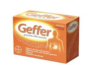 Geffer Granulato Effervescente 24 Bustine Da 5 G