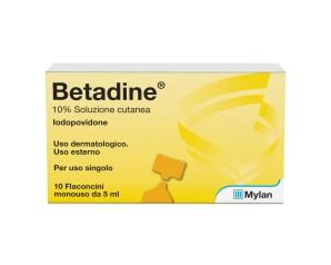 Betadine Sol Cut 10Fl 5Ml 10%