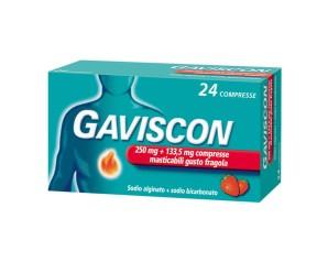 GAVISCON*24CPR FRAG250+133,5MG