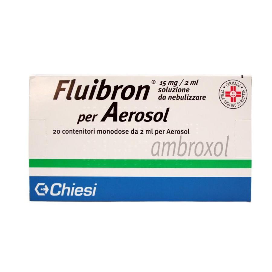 Fluibron 15 Mg/2 Ml Soluzione Da Nebulizzare 20 Contenitori Monodose 2 Ml