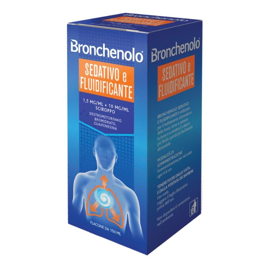 Bronchenolo Sed Flui 1,5 Mg/Ml + 10 Mg/Ml Sciroppo  Flacone 150 Ml