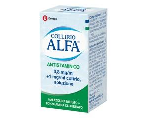 Collirio Alfa Antistam 0,8 Mg/Ml + 1 Mg/Ml Collirio, Soluzione Flacone 10 Ml