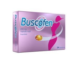 Buscofen 200 Mg Capsule Molli, 24 Capsule In Blister Al/Pvc/Pe/Pvdc