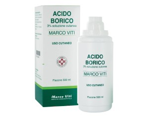 ACIDO BORICO MV*3% 500ML