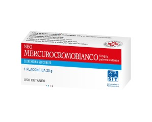 Neomercurocromo Bianco Polvere