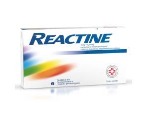 Reactine 5 Mg + 120 Mg Compresse A Rilascio Prolungato, 6 Compresse In Blister Pvc-Aclar-Al