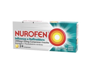 Nurofen Influenza Raffr 200 Mg + 30 Mg Compresse Rivestite