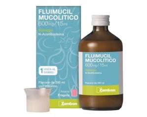 Fluimucil Mucol 600 Mg/15 Ml Sciroppo Flacone 200 Ml