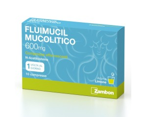 Fluimucil Mucol 10Cpr Eff600mg