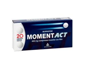 Momentact 400 Mg Compresse Rivestite Con Film 20 Compresse In Blister In Pvc/Pvdc/Al