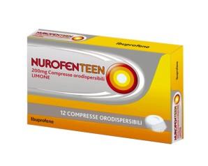 Nurofenteen 200 Mg Compresse Orodispersibili 12 Compresse Orodispersibili Limone In Blister Pvc/Al/Poliamide/Al