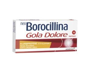 Neoboro Golado 8,75 Mg Pastiglie Senza Zucchero Gusto Limone E Miele 16 Pastiglie