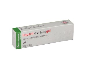 Reparil 2% + 5%  Gel Tubo 40 G
