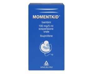 Momentkid Bambini 100 Mg/5 Ml Sospensione Orale Flacone 150 Ml Con Siringa Dosatrice