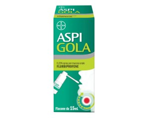 Aspi Gola 0,25% Spray Per Mucosa Orale Flacone Da 15 Ml
