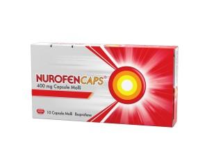 Nurofencaps 400 Mg Capsule Molli 10 Capsule In Blister Pvc/Pvdc/Al