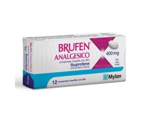 Brufen Analges 400 Mg Compresse Rivestite Con Film 12 Compresse In Blister Pvc/Aclar/Al/Vmch