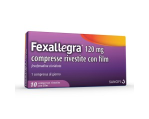 Fexallegra 120 Mg Compresse Rivestite Con Film 10 Compresse In Blister Pvc/Pvdc/Al