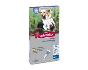 ADVANTIX Spot-On 4x4ml 25-40Kg