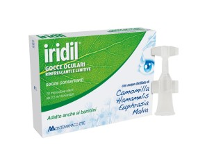 Montefarmaco  Dispositivi Medici Oftalmici Iridil® Gocce Oculari 10x0,5 ml