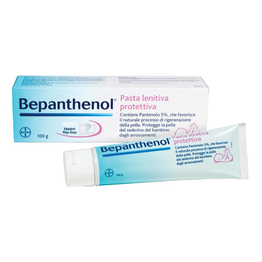 Bepanthenol Pasta Protettiva Rigenerante Crema Lenitiva 100 g
