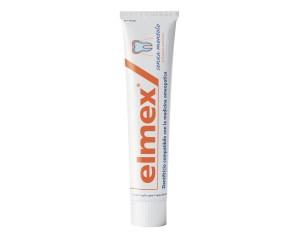 elmex  Igiene Dentale Quotidiana Dentifricio Classico Senza Mentolo 75 ml