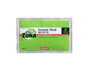 EnerZona  Alimentazione Dieta a ZONA Instant Meal Fragola Yogurt 40-30-30