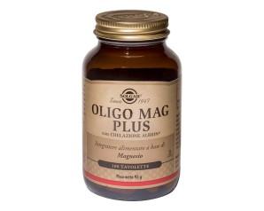 Solgar  Minerali Oligo Mag Citrato Integratore Alimentare 60 Tavolette