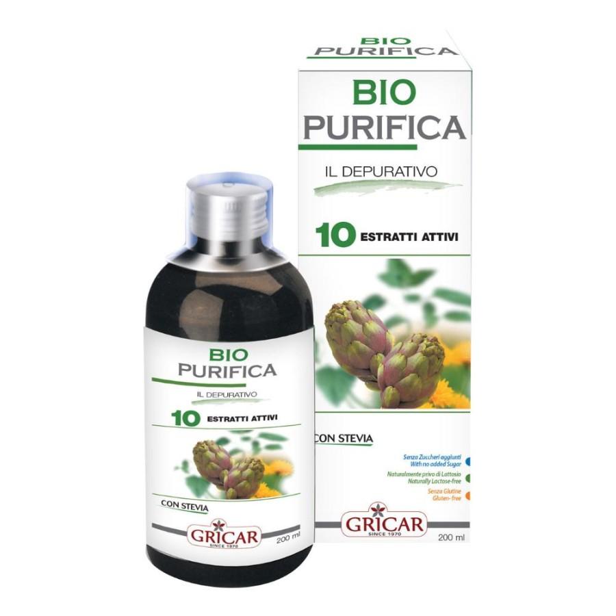 Gricar Biopurifica Il Depurativo Integratore Alimentare 200 ml