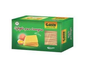 GIUSTO S/G Lasagne 250g
