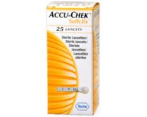Accu-Chek  SoftClix 25 Lancette Pungidito Glicemia