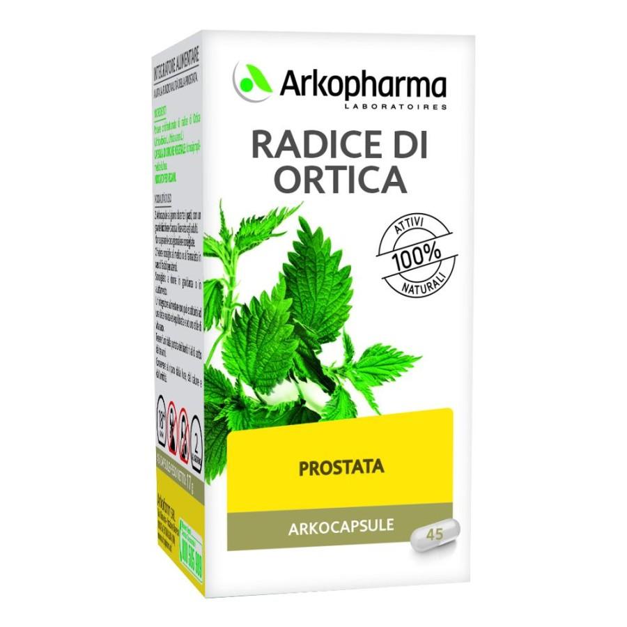 Arkocapsule  Benessere Prostata Radice di Ortica Integratore 45 Capsule