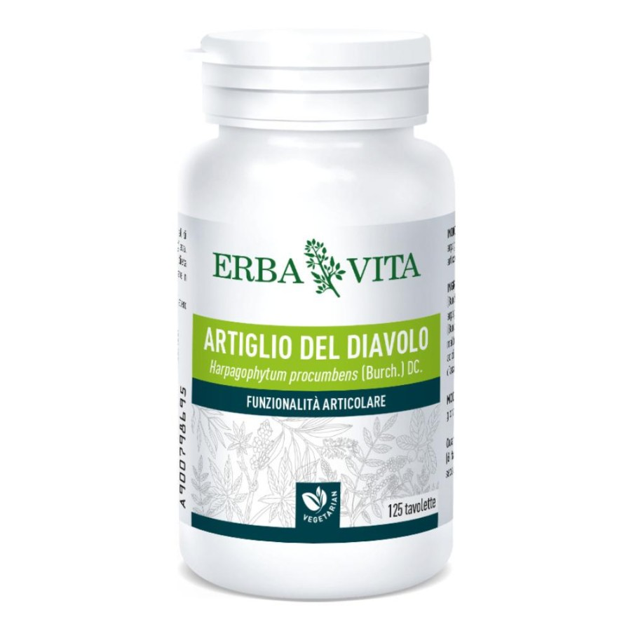 Erba Vita Group Artiglio Diavolo 125 Tavolette 400 Mg