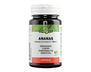 Erba Vita Ananas Capsule Monoplanta Integratore Alimentare 60 Capsule Da 500 mg