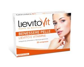 LievitoVit  Salute e Benessere Lievito Vivo e Vitamine Integratore 30 Buste