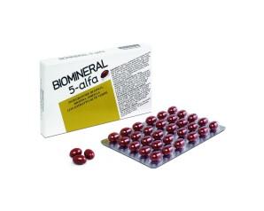 Biomineral Hair Terapy 5-Alfa Integratore Capelli Deboli 30 Capsule
