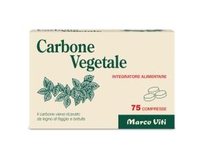 Marco Viti Farmaceutici Carbone Vegetale 75 Compresse