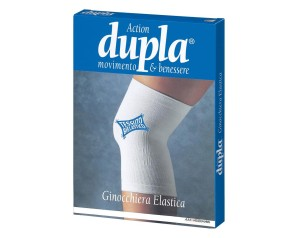 Welcome Pharma Ginocchiera Elastica Dupla Bianca Xl