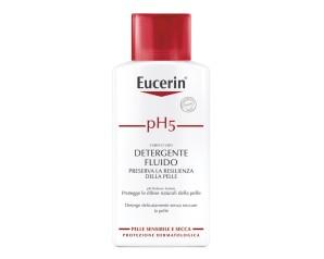 Eucerin  pH5 Detergente Fluido Delicato senza Sapone Pelle Sensibile 200 ml