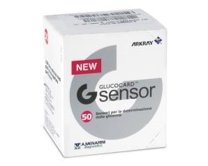 Menarini Diagnostics  Controllo Glicemia G Sensor 50 Strisce Rilevatrici