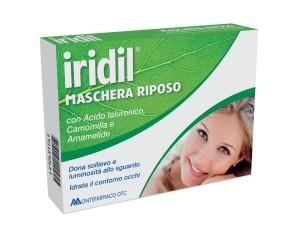Montefarmaco  Oftalmica Iridil® Maschera Riposo Occhi Segnati e Stanchi