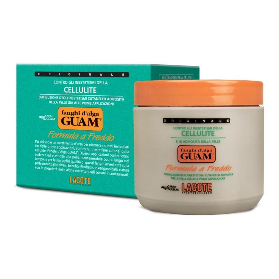 GUAM  Fanghi d'Alga Anticellulite Anti-Adiposità Formula a Freddo 500 g