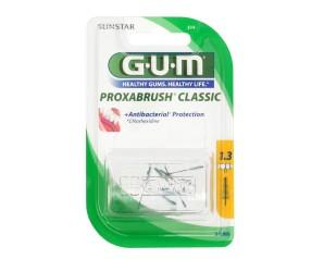 GUM  Igiene Dentale Quotidiana Proxabrush 514 8 Ricambi Conici 1.3 mm