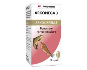 ARKOMEGA 3 COLESTEROLO 50CPS