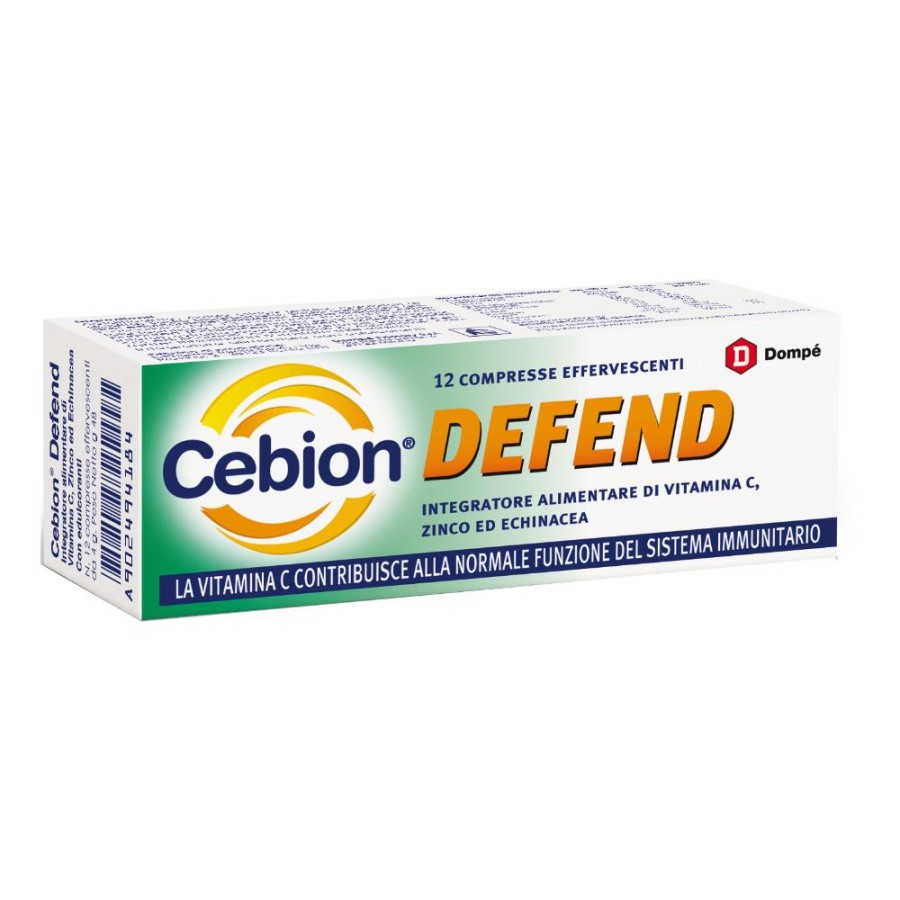 Cebion Defend Integratore 12 Compresse Effervescenti