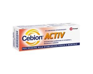 Cebion  Tono ed Energia Activ Integratore Alimentare 12 Cpr Effervescenti