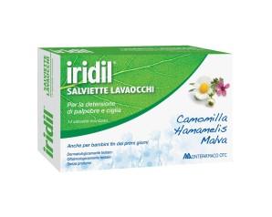 Montefarmaco  Dispositivi Medici Oftalmici Iridil® 14 Salviette Lavaocchi
