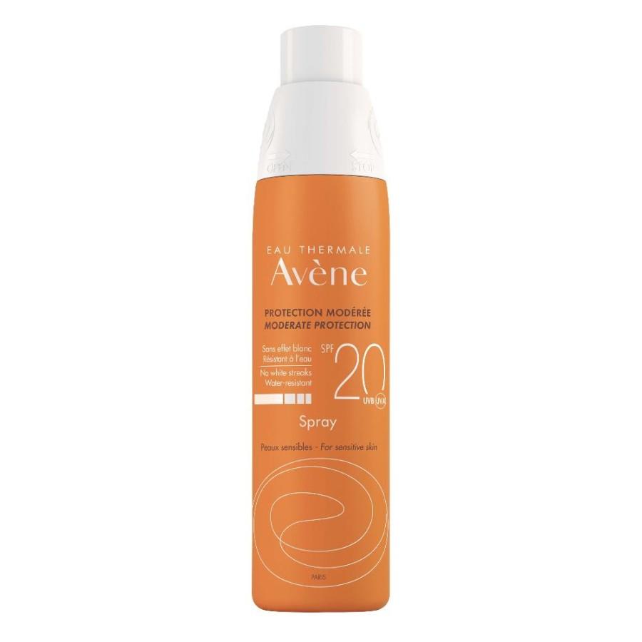 Avene Spray Protezione Solare SPF20 Pelle Sensibile 200ml