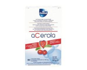 ACEROLA+Vit.C 80 Tav.75gCOSVAL