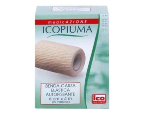 Desa Pharma Icopiuma Benda Garza Elastica Autofissante Cm6x4mt 1 Pezzo
